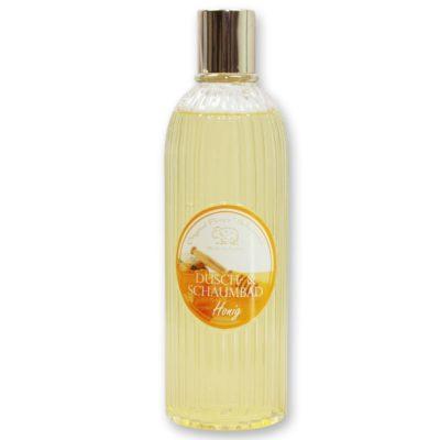 Dusch- & Schaumbad mit biologischer Schafmilch 330ml in der Flasche, Honig
