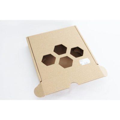 Geschenkkarton für Teelichter